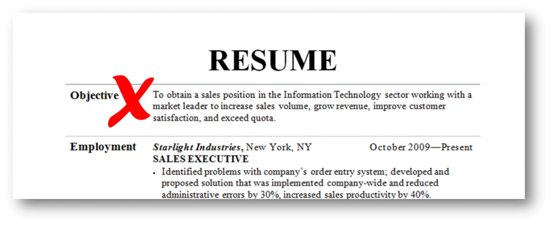 resume objective examples guaranteed to get you interviews 2015 - Resume And Objective
