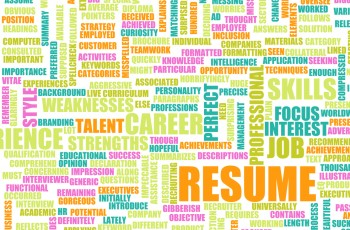 Resume keywords